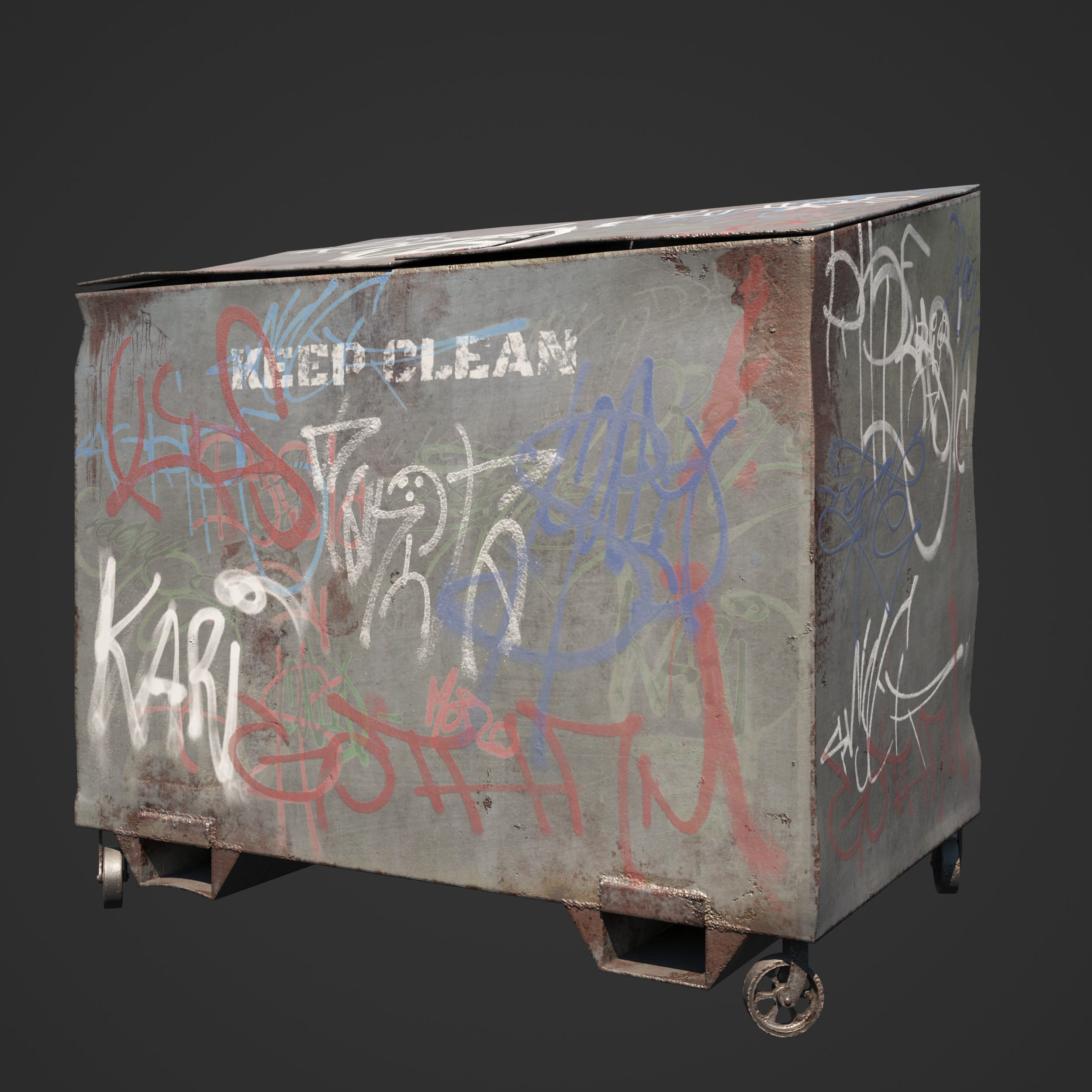 garbage container 55 AM246