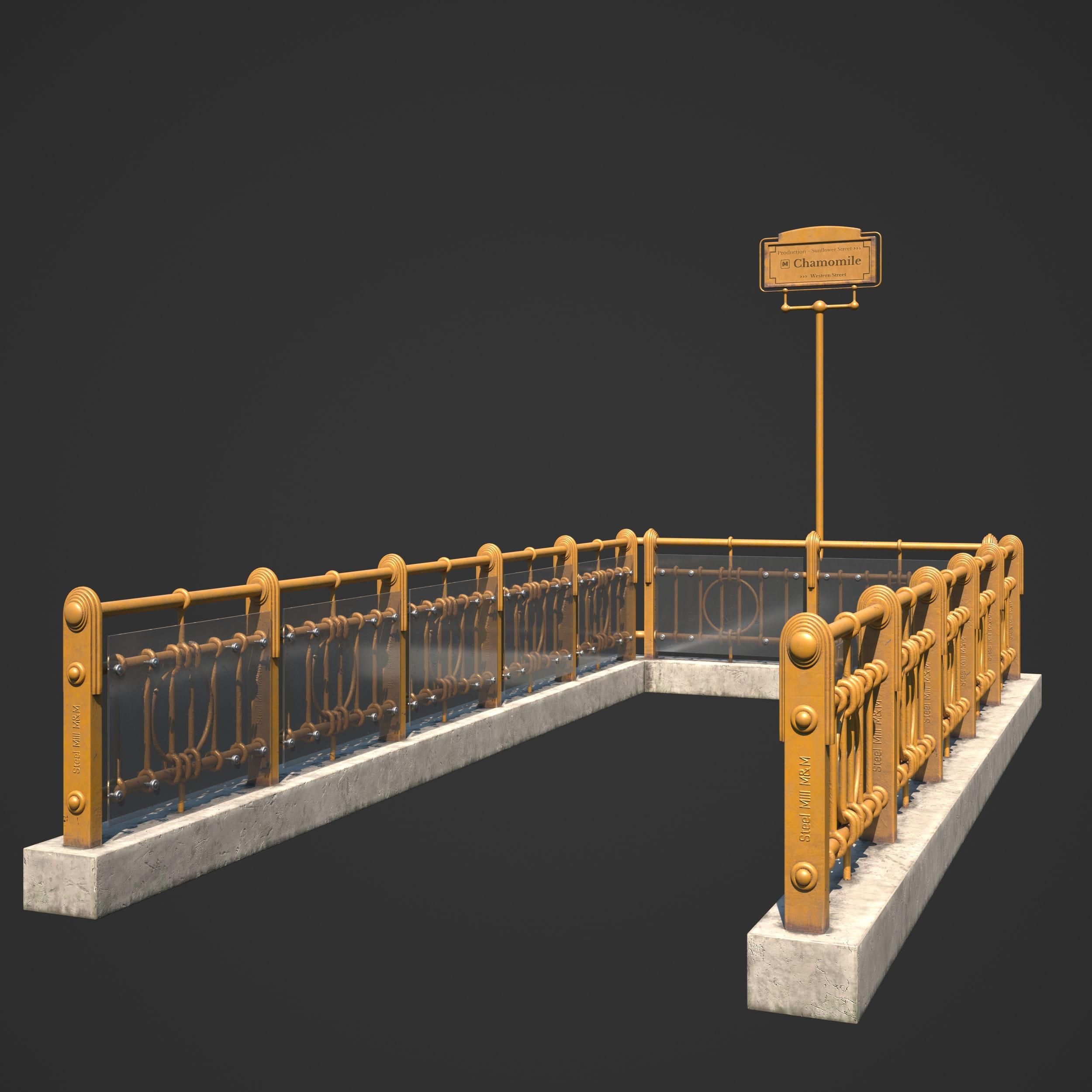 subway entrance 69 AM246