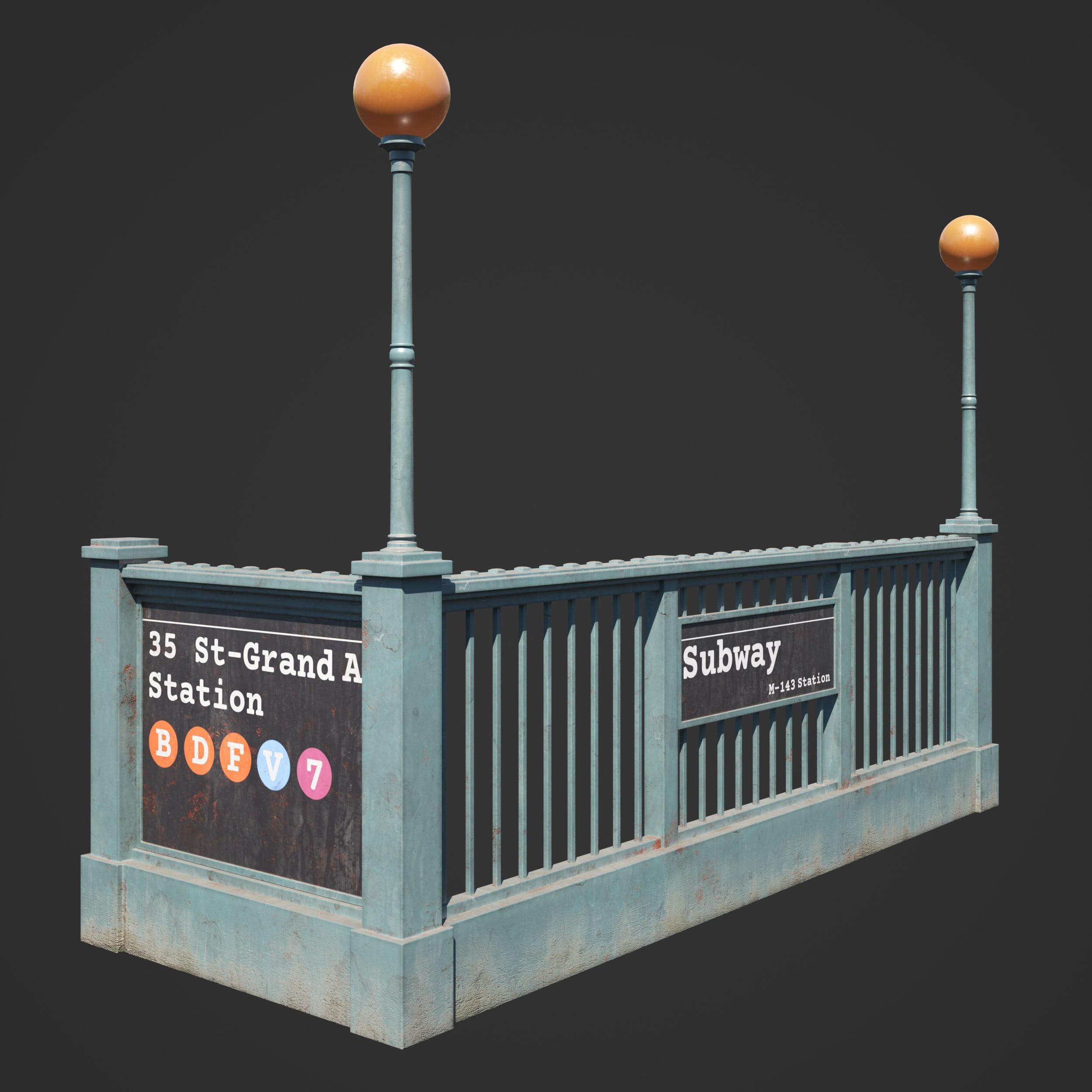 subway entrance 72 AM246
