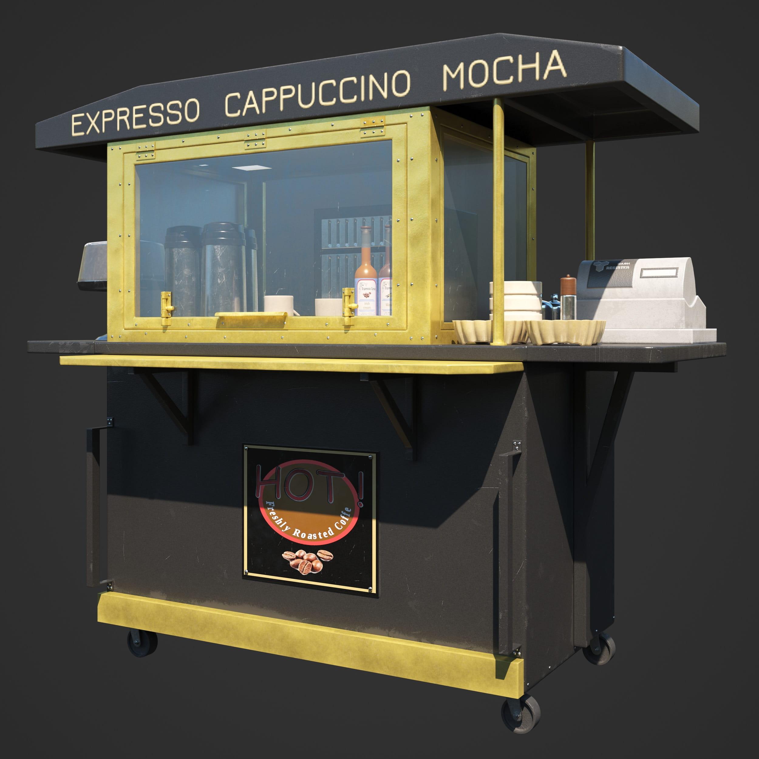 coffee cart 88 AM246
