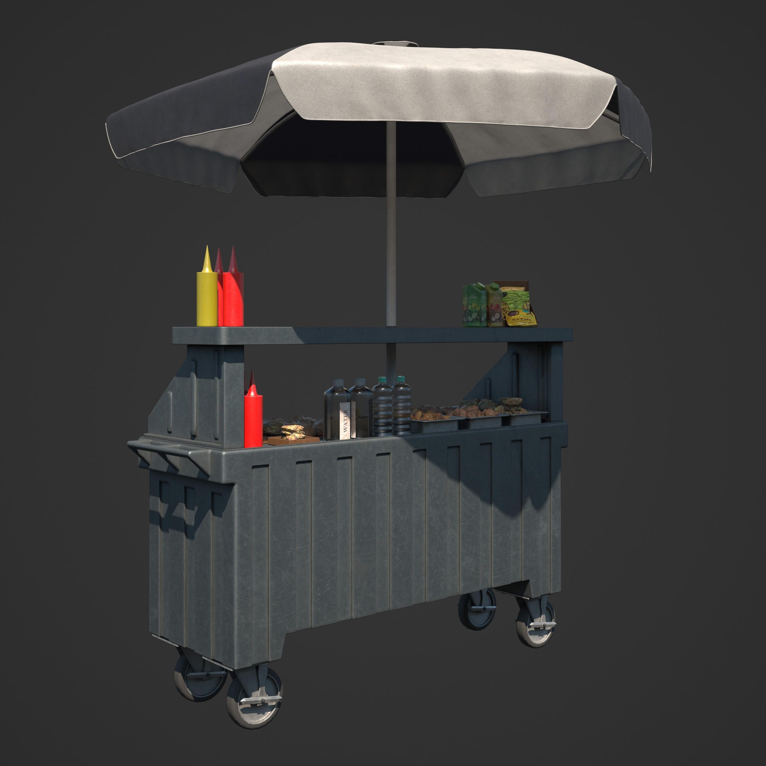 food cart 92 AM246