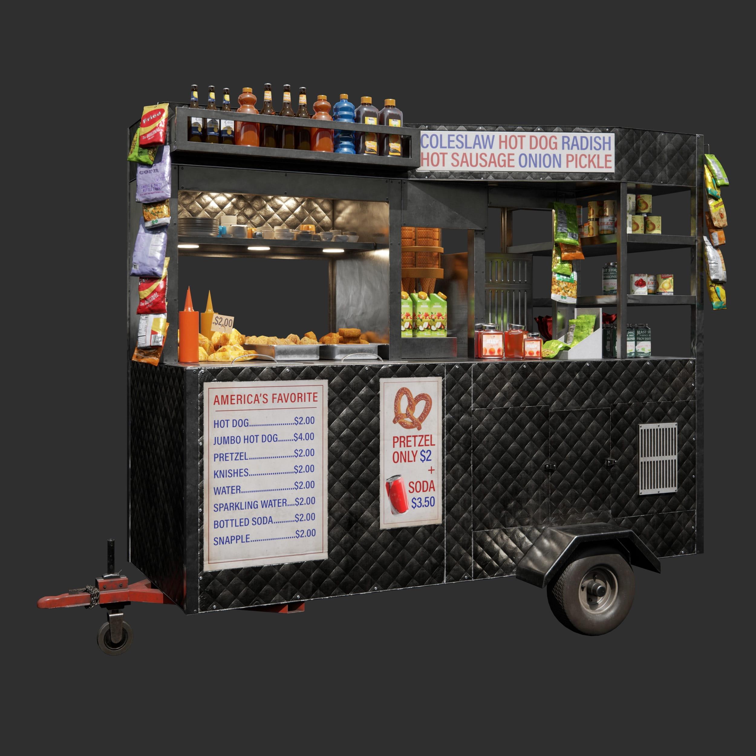 food cart 93 AM246