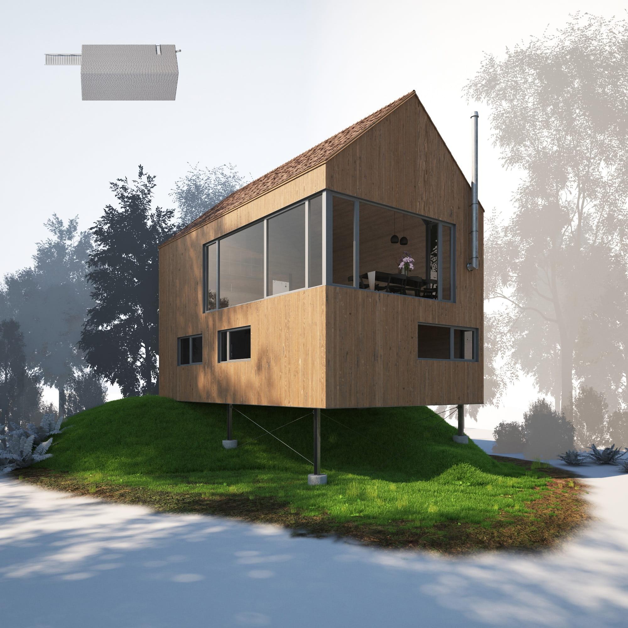 House 11 AM254 Archmodels