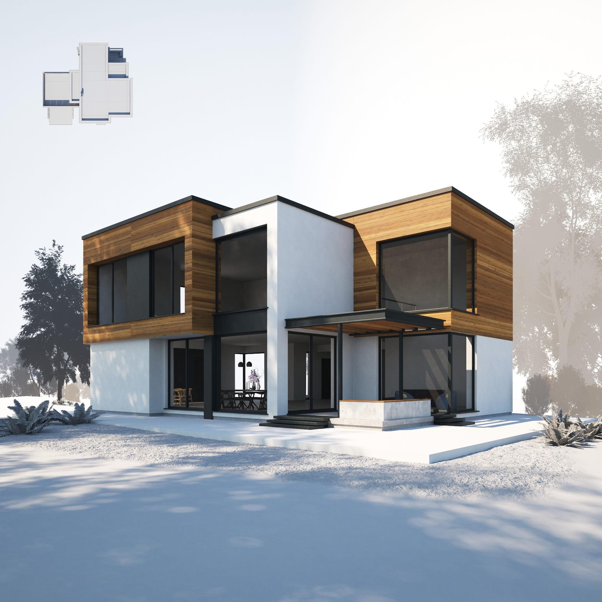 House 22 AM254 Archmodels