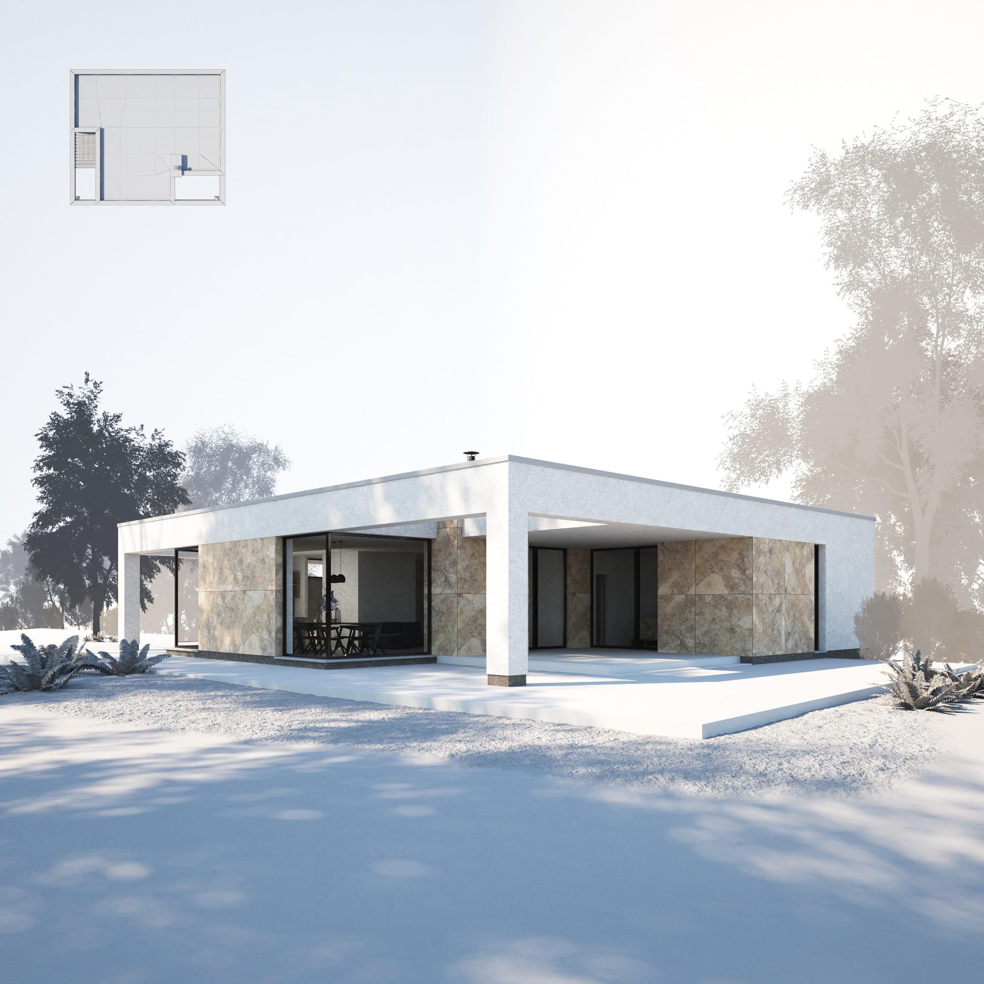 House 24 AM254 Archmodels