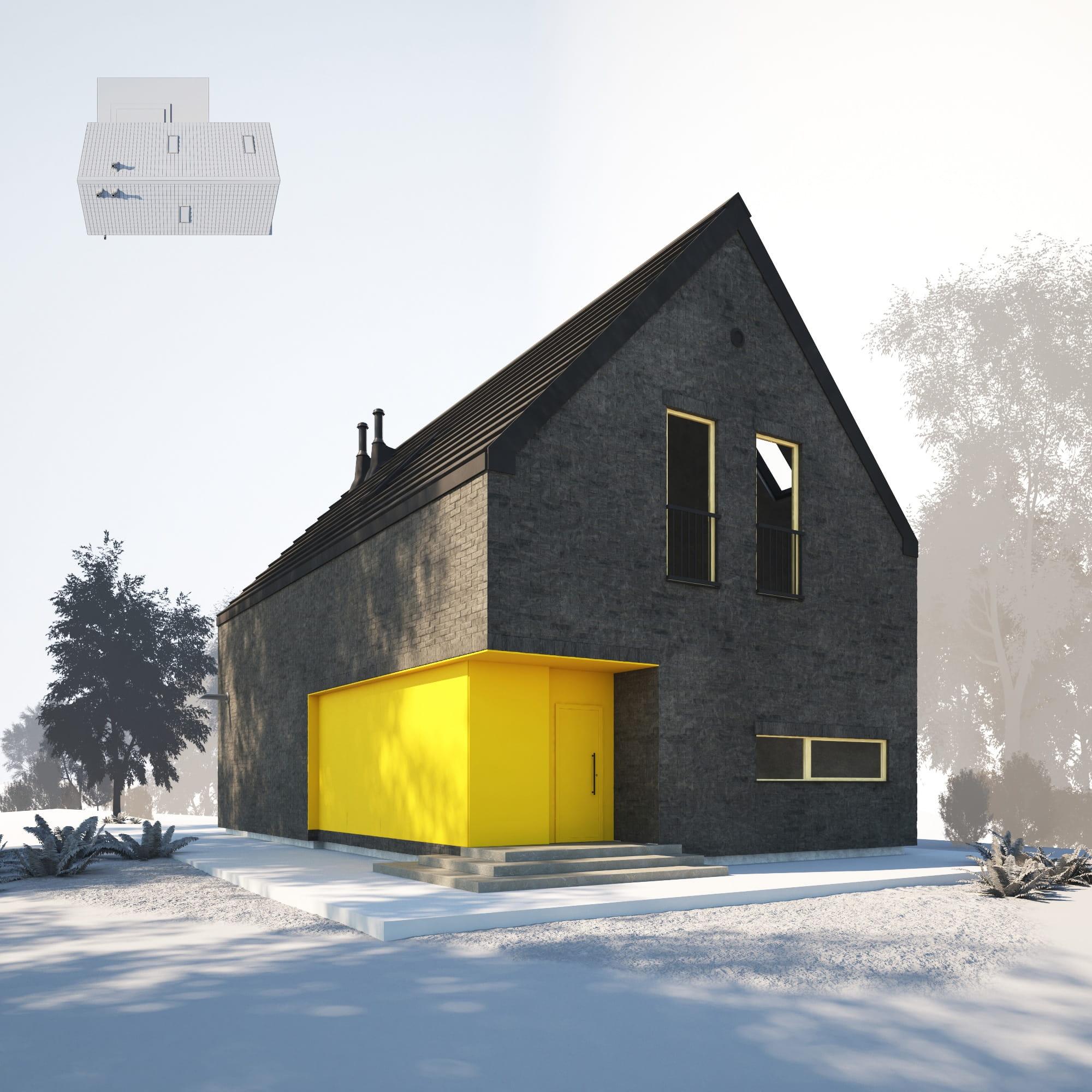 House 28 AM254 Archmodels