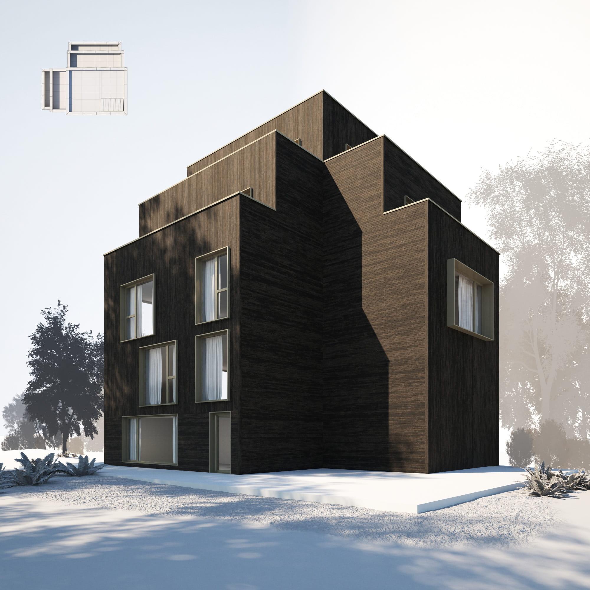 House 29 AM254 Archmodels