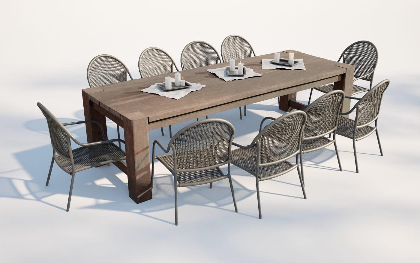 Furniture set 7 AM220 Archmodels
