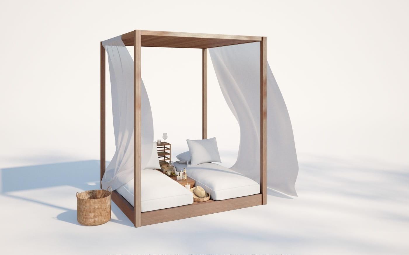 Furniture set 11 AM220 Archmodels
