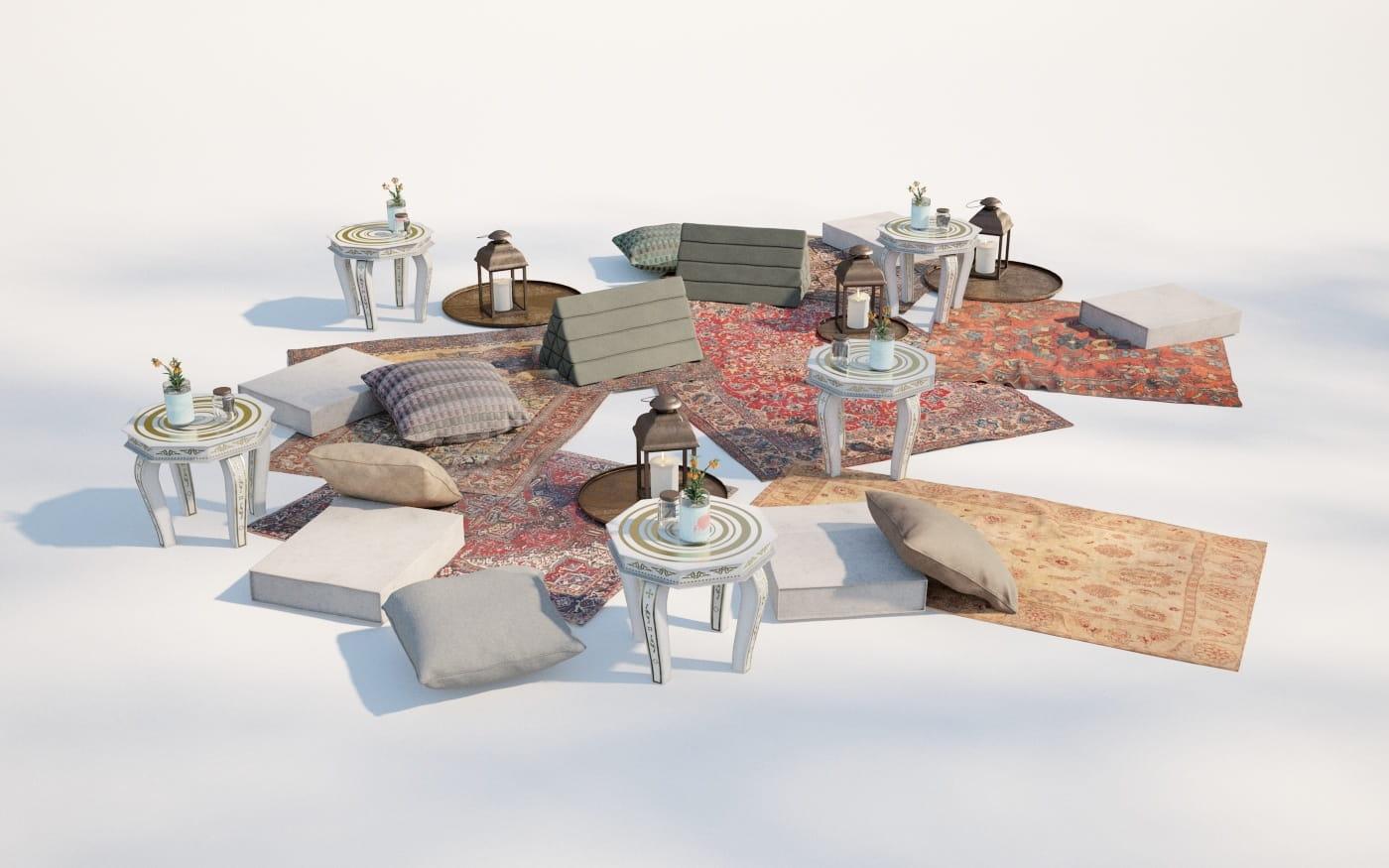 Furniture set 13 AM220 Archmodels
