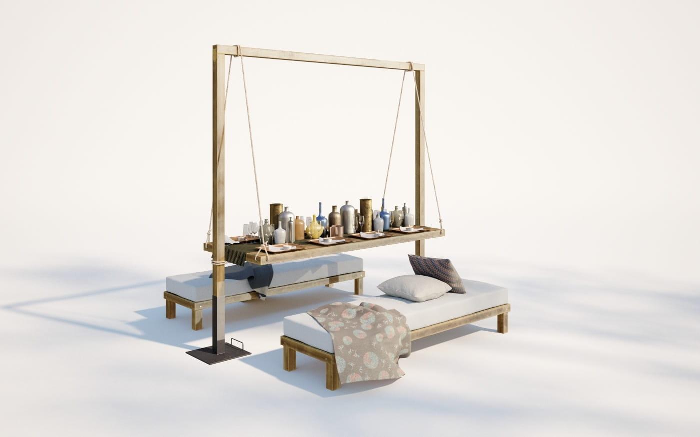 Furniture set 26 AM220 Archmodels