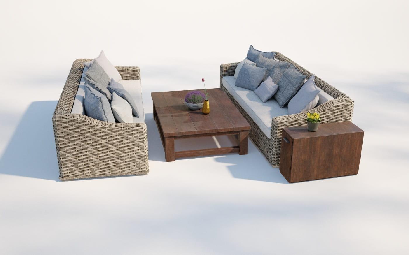 Furniture set 27 AM220 Archmodels