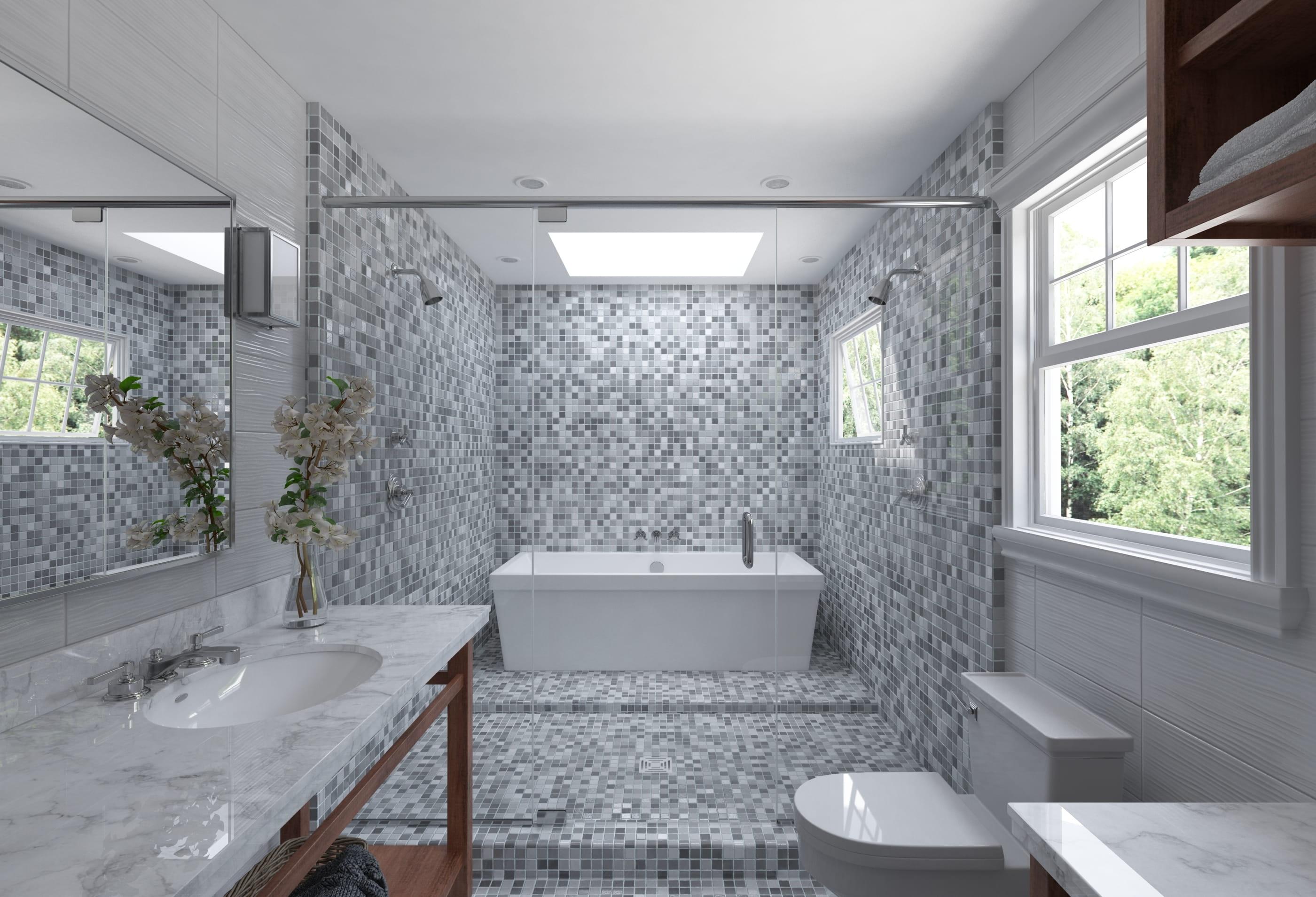 Ceramic Tiles Mosaic 42 Archmaterials 3
