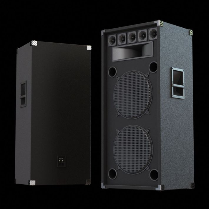 loudspeaker 49 AM104 Archmodels