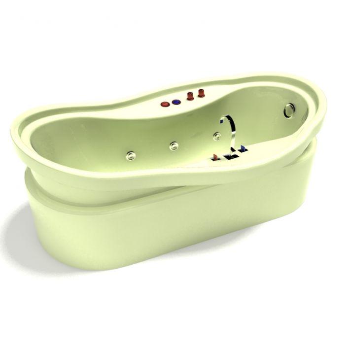bathtub 8 AM15 Archmodels