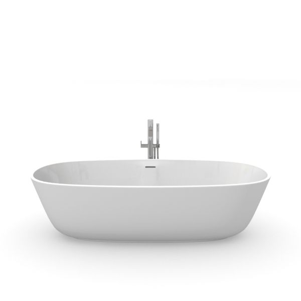 Bathroom 3d Model bathtub 45 am56 - obj, fbx, dxf, mxs 3d model - evermotion