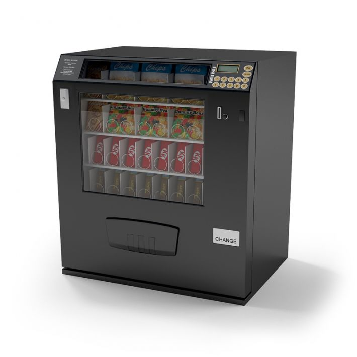 snack vending machine 19 AM87 Archmodels