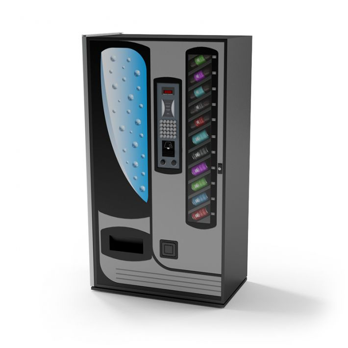 beverage vending machine 22 AM87 Archmodels