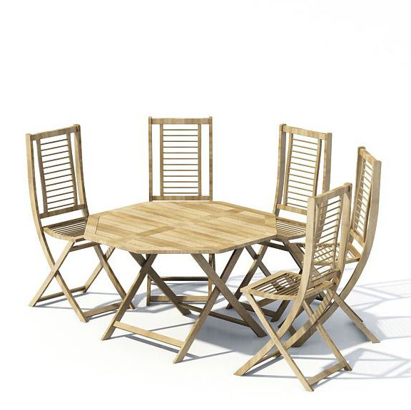 Garden furniture 69 AM22 Archmodels