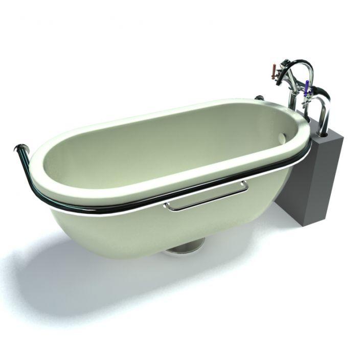 bathtub 2 AM15 Archmodels