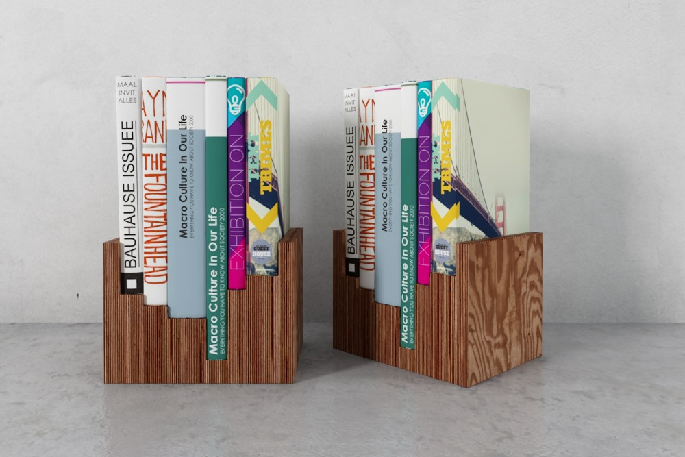 bookshelf 48 AM179 Archmodels