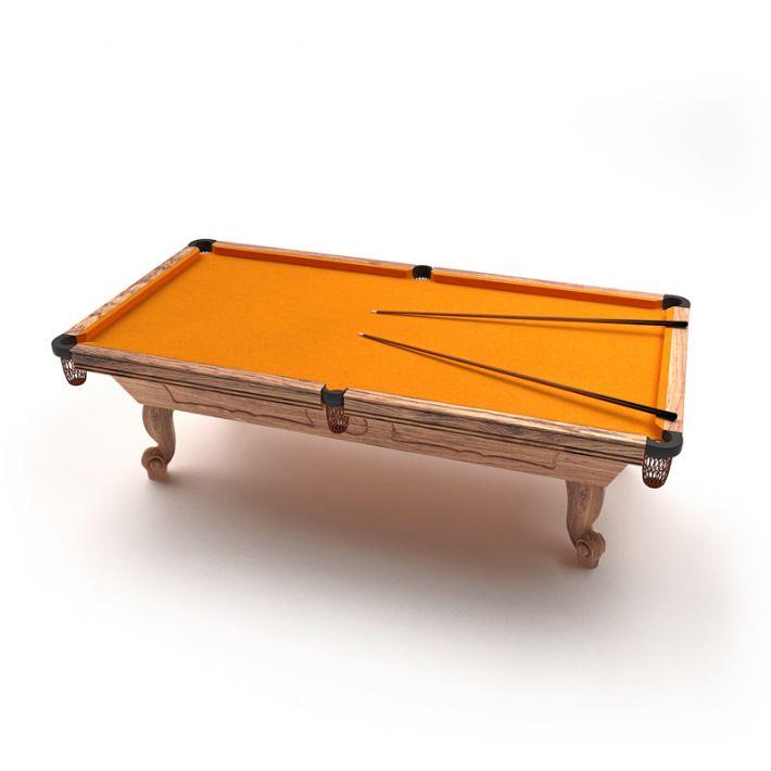 billiard table 21 AM47 Archmodels