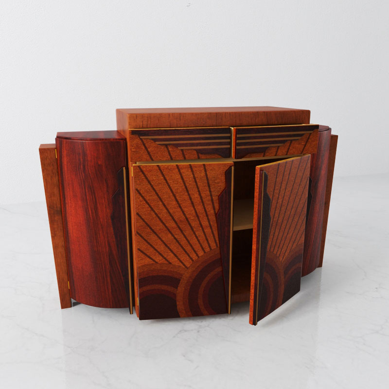 cabinet 33 AM142 Archmodels