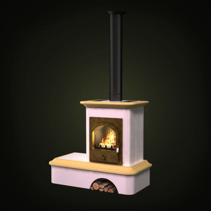 fireplace 46 AM97 Archmodels