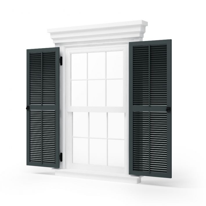 window shutters 74 AM95 Archmodels