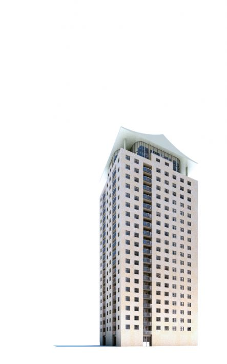 skyscraper 45 AM71 Archmodels