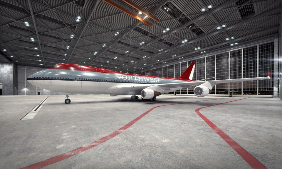 Boeing 747 am73