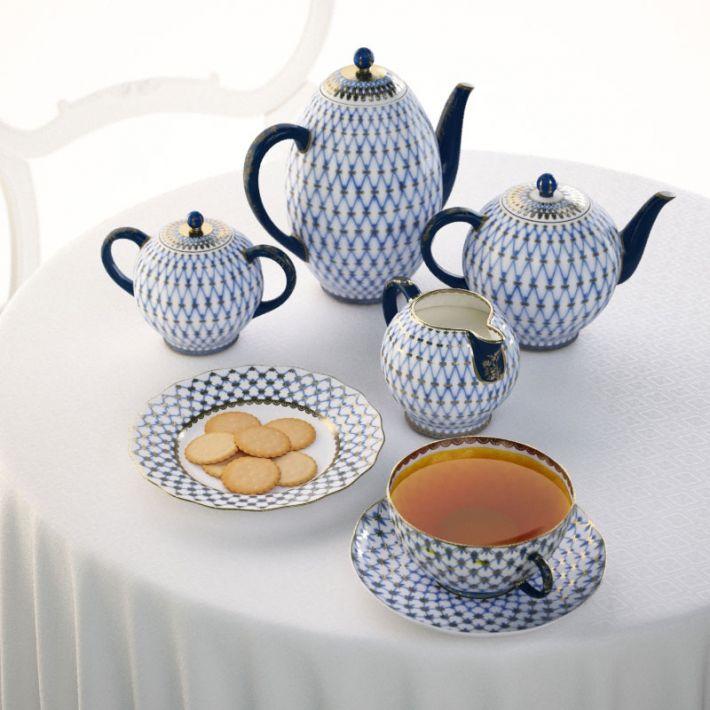 porcelain set 2 AM108 Archmodels