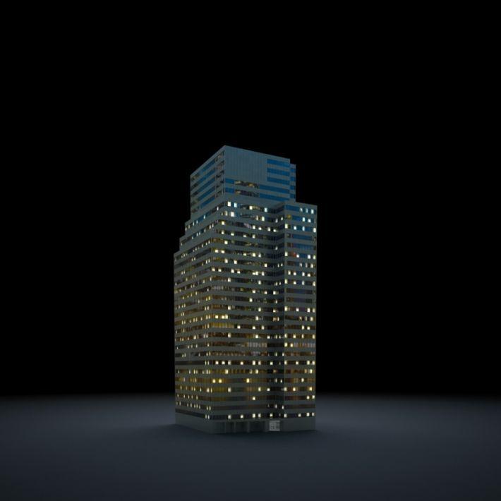 skyscraper 77 AM103 Archmodels