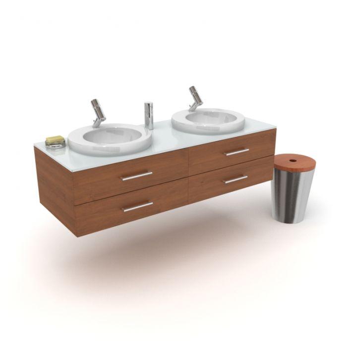 bathroom furniture set 18 AM56 Archmodels