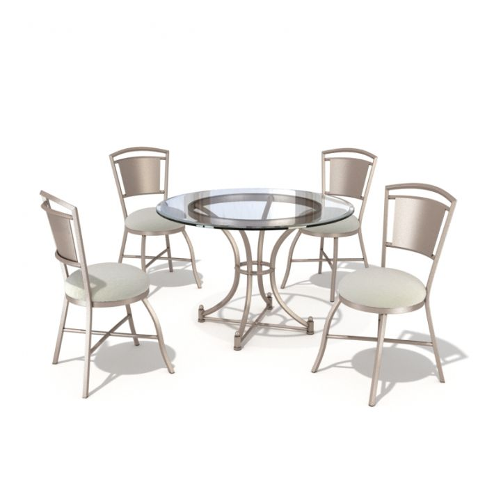 table & chair set 38 AM54 Archmodels
