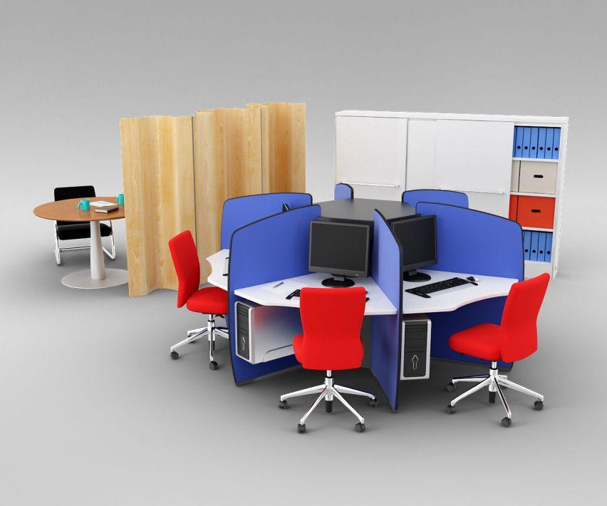 office set 11 AM110 Archmodels