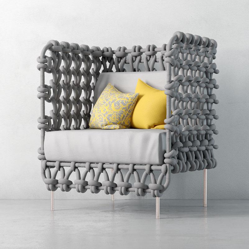 armchair 36 AM135 Archmodels