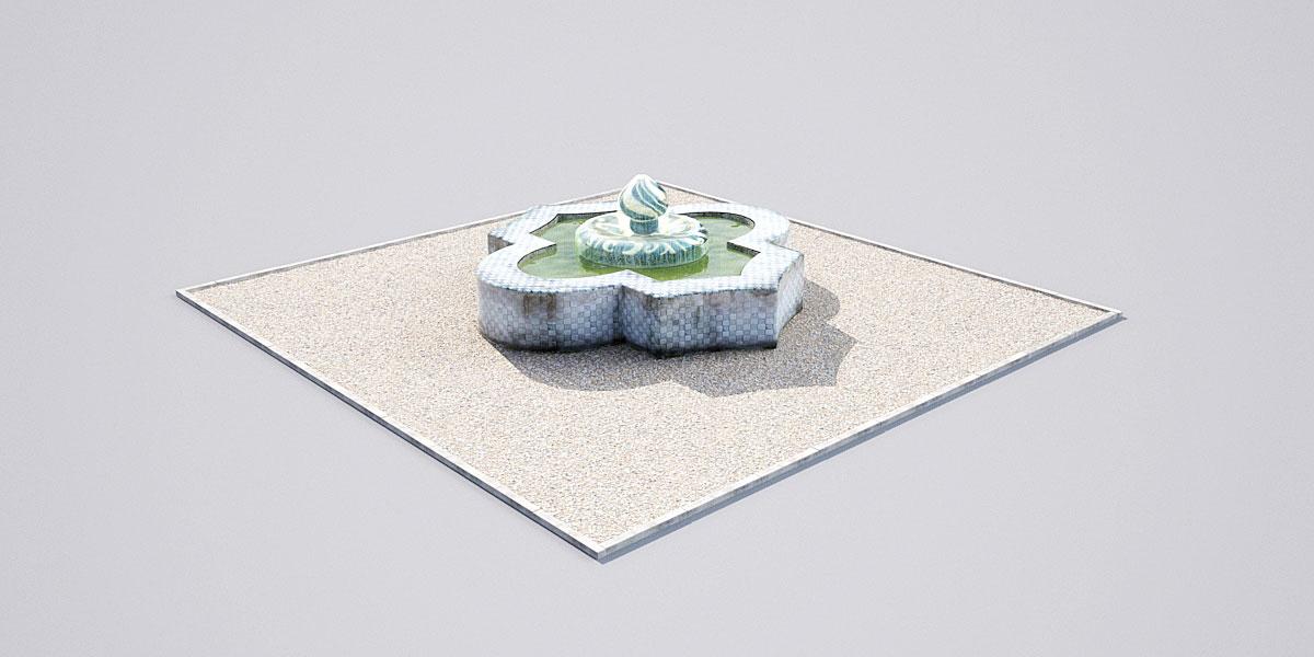fountain 19 1 AM148 Archmodels