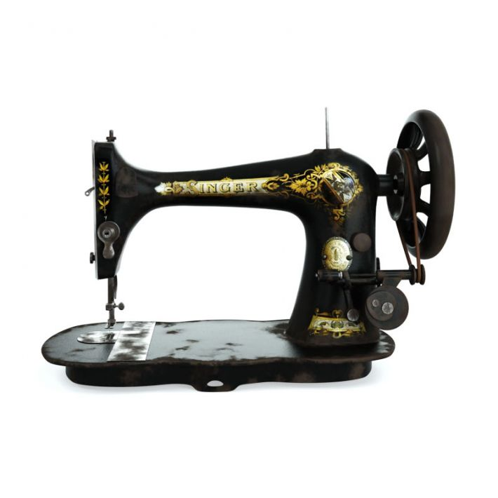 sewing machine 8 AM114 Archmodels
