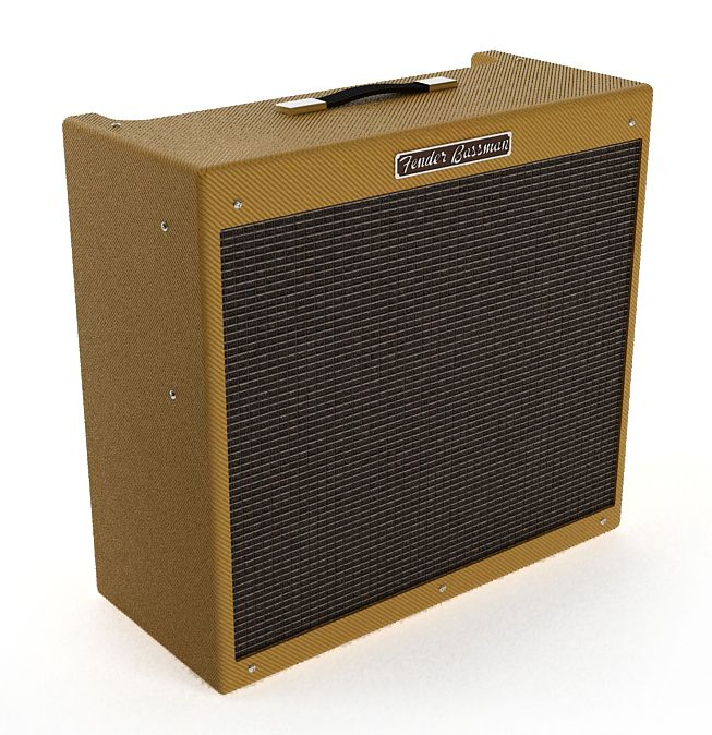 Fender59 Bassman Guitar Amplifier 43 AM67 Archmodels