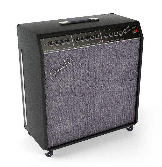 Fender Concert Reverb Guitar Amplifier 42 AM67