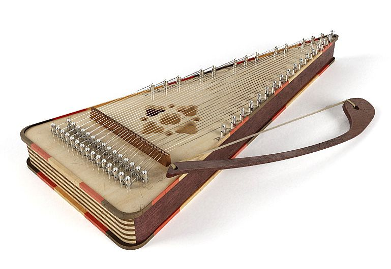 Psaltery 15 AM67 Archmodels