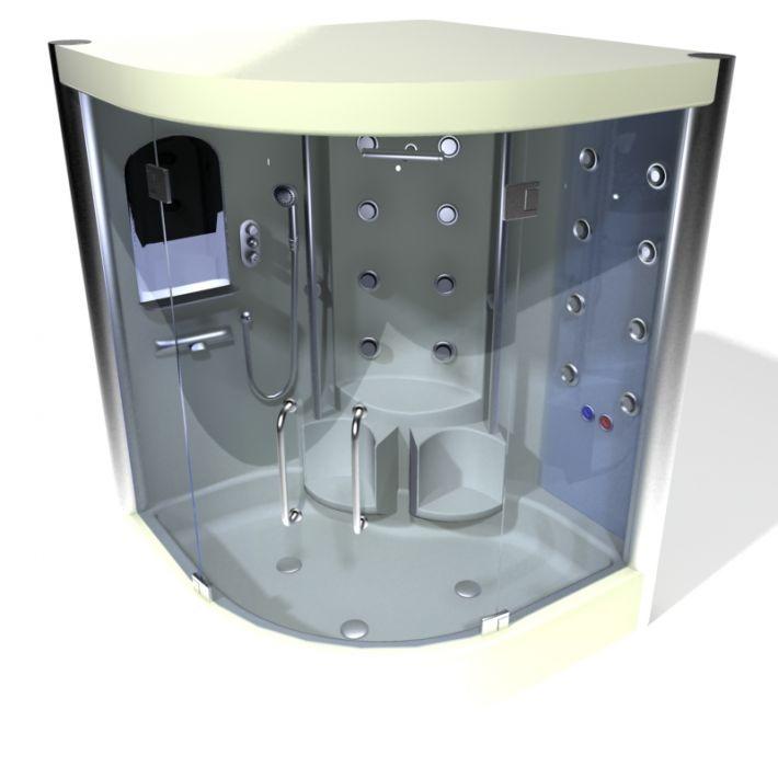 shower cabin 102 AM15 Archmodels
