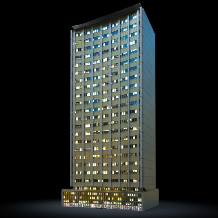 skyscraper 33 AM103 Archmodels