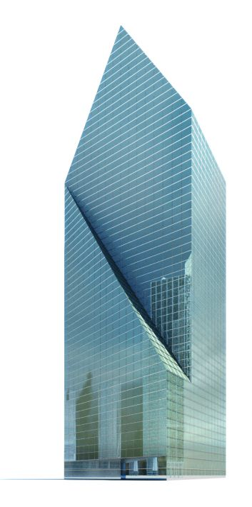 skyscraper 12 AM71 Archmodels