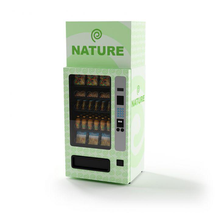 snack vending machine 17 AM87 Archmodels