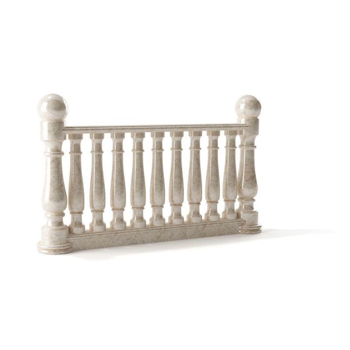railing 122 AM79 Archmodels