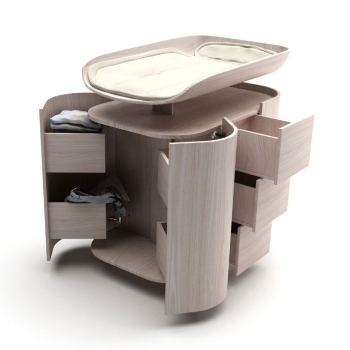 Attractive Changing Table 42 AM119 Archmodels