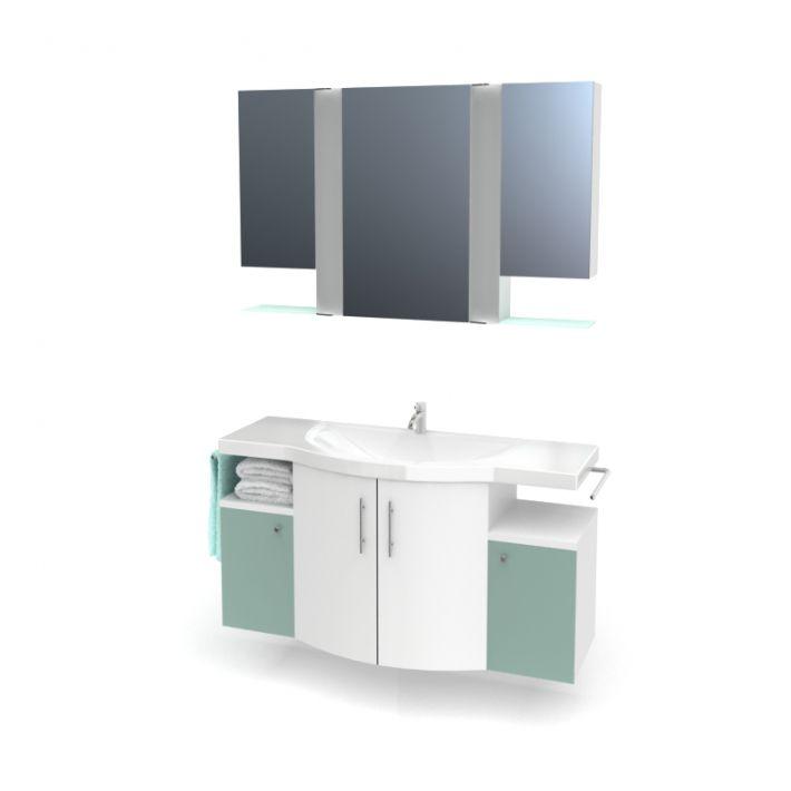 bathroom furniture set 11 AM56 Archmodels