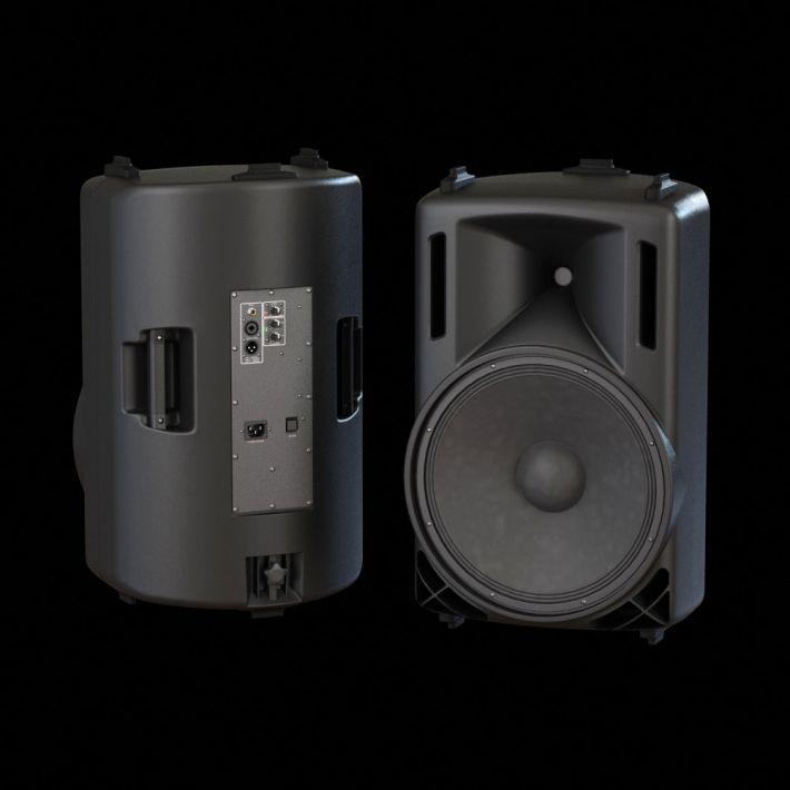 loudspeaker 48 AM104 Archmodels